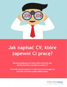 okładka do artykułu CV dla zaawansowanych